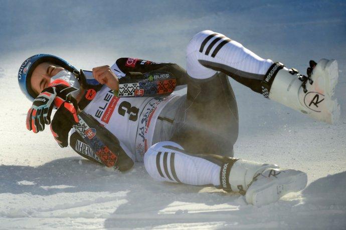 Po obrovskom slalome v Jasnej. Foto - TASR/Martin Baumann