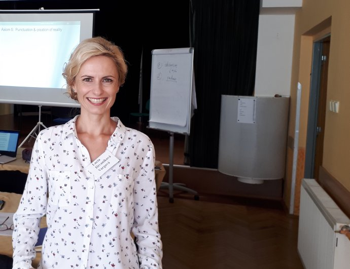 Psychologička Lucia Vargová Ištvaniková. Foto - archív LVI
