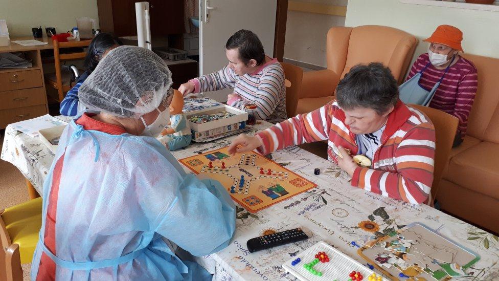 Aj počas pandémie sa treba zabaviť. Foto - archív Domov pod Tatrami