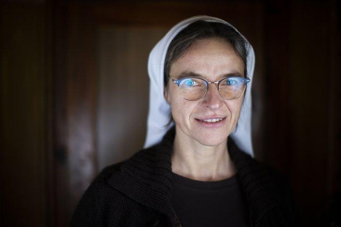 Sestra Dominika. Foto – Deník N/Gabriel Kuchta