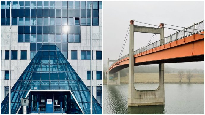 Vizuálne pripomienky Louvru či Golden Gate sa dajú nájsť aj vo Viedni. Foto - Wojciech Czaja