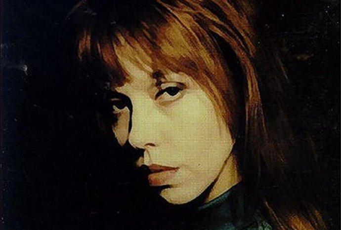 Anita Lane na obale svojej prvej sólovej platne. Foto - Mute Records
