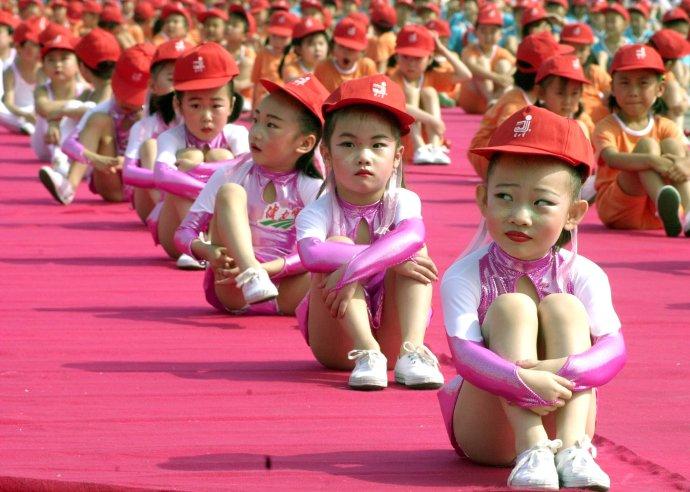 Deň detí v Pekingu. Ilustračné foto - TASR/AP