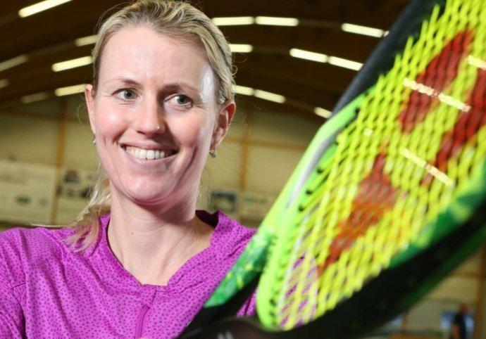 Daniela Bedáňová dnes trénuje amaterských hráčov. FOTO Archív Daniely Bedáňovej