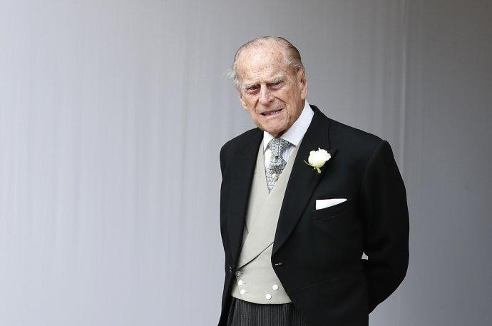Princ Philip. Foto - TASR/AP