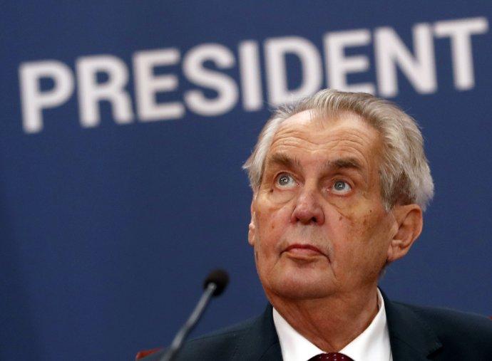 Český prezident Miloš Zeman na snímke z roku 2019. Foto - TASR