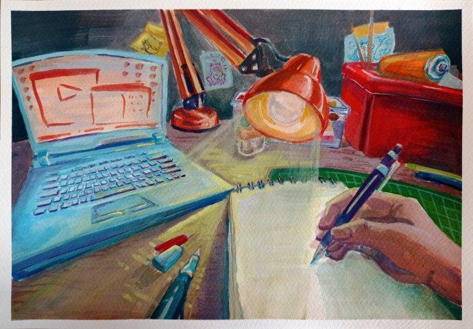 Michaela Volková, 15 rokov, Škola umeleckého priemyslu v Košiciach