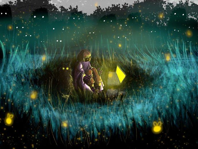 Ilustrácia – Nikoleta Zádoriová (18 rokov, Súkromná škola umeleckého priemyslu animovanej tvorby, Bratislava)