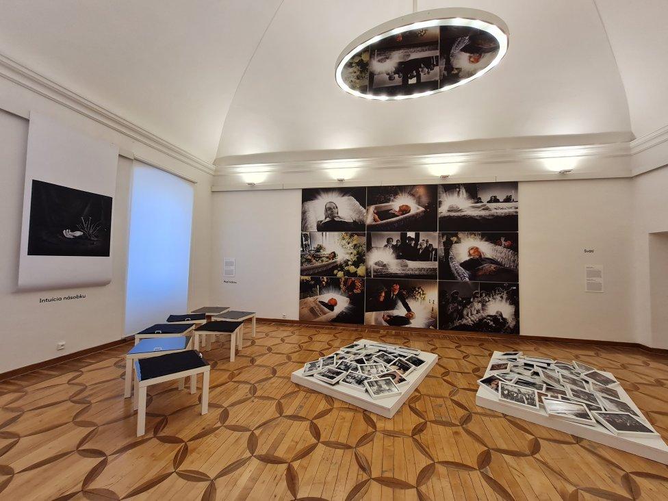 Výstava Jozefa Sedláka v Galérii umelcov Spiša. Foto - Jozef Sedlák