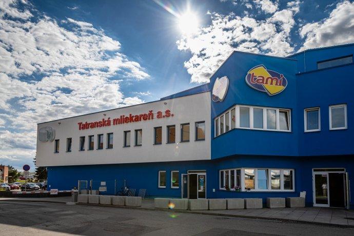Tatranská mliekareň v Kežmarku. Foto - Tami