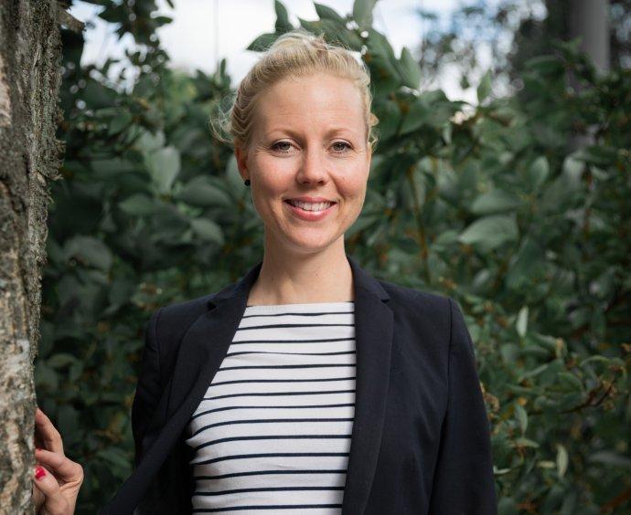 Fínska novinárka Jessikka Arová. Foto – Nelli Kivinen