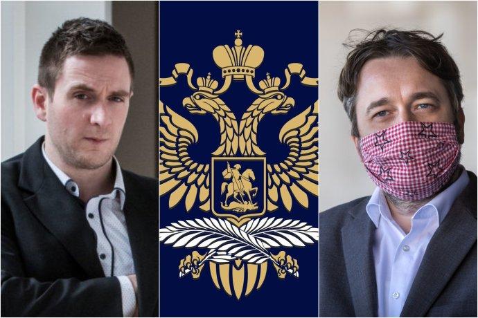 Exkoletbovec Milan Uhrík a poslanec Ľuboš Blaha sú na amerických sociálnych sieťach úspešní aj preto, že šíria posolstvá v prospech Vladimira Putina. Foto - N/Ruská ambasáda