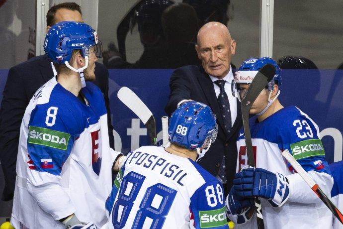 Tréner Craig Ramsay. Foto - TASR/Jaroslav Novák