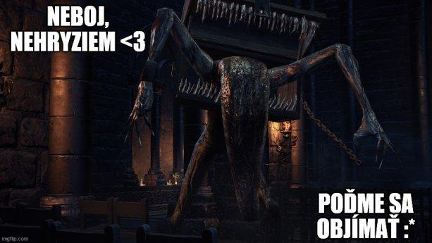 Jedna z mnohých lekcií Dark Souls série - než otvoríte hocijakú truhlicu, uistite sa (najlepšie útokom), či nie je živá :D Zdroj obr.: Gaming Bolt