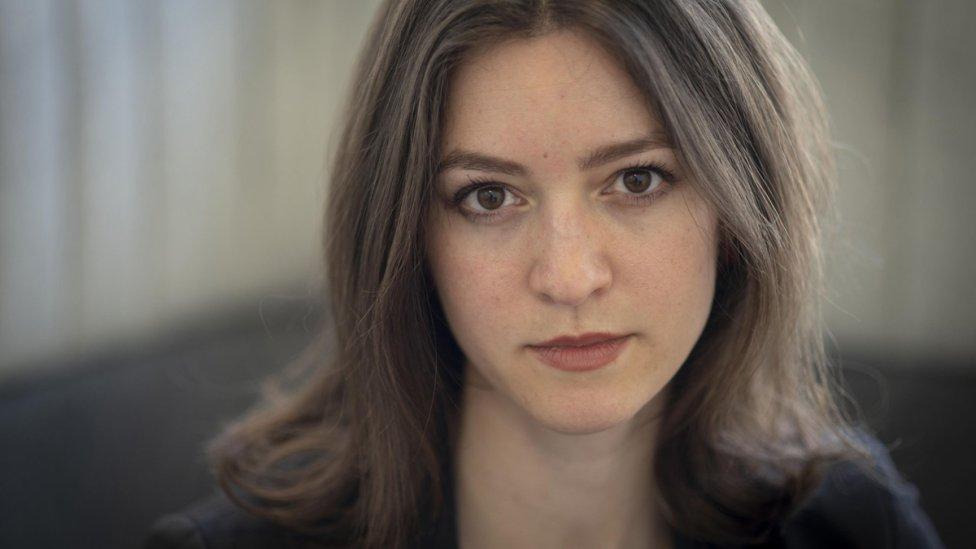 Julia Ebner. Foto – BBC/Phil Coomes