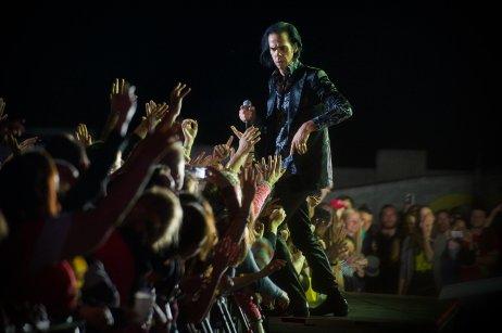Nick Cave na Pohode 2013. Foto – Miro Hudák
