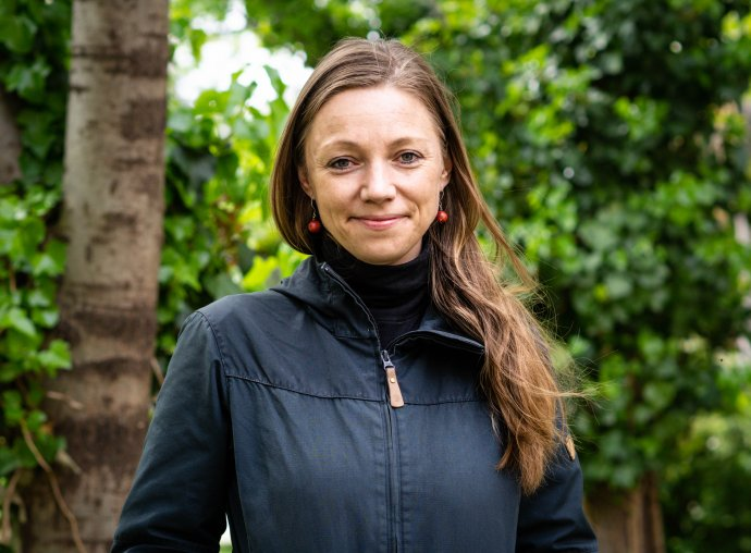 Zuzana Pšenáková z oddelenia mestskej zelene v Bratislave. Foto N - Tomáš Grečko