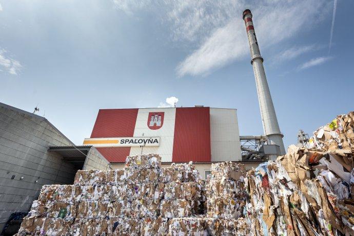 Bratislavská spaľovňa komunálneho odpadu. Foto N - Tomáš Benedikovič
