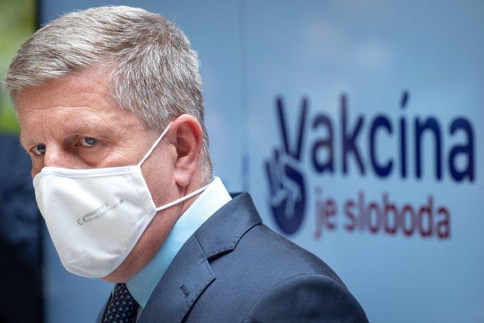 Minister zdravotníctva Vladimír Lengvarský. Foto N - Tomáš Benedikovič