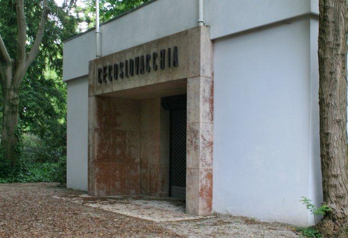 Český a slovenský pavilón v Benátkach. Foto - Luu