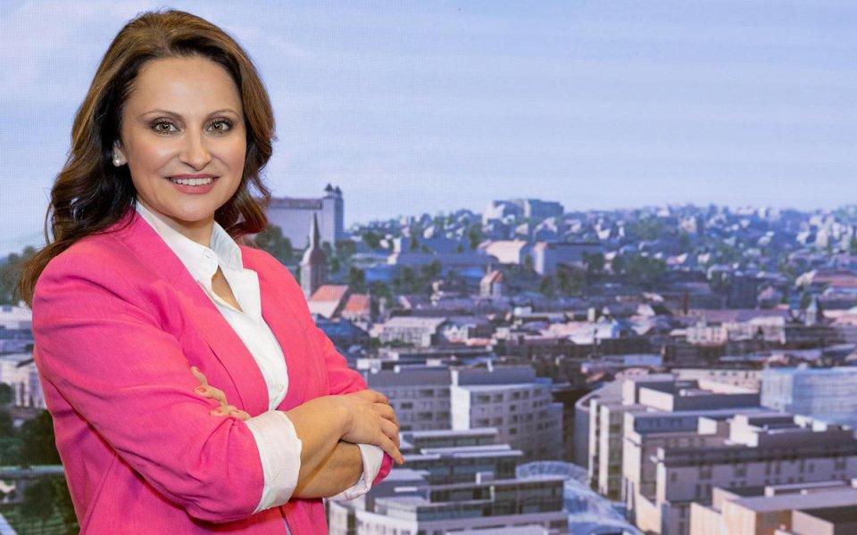 Moderátorka relácie Peniaze Helena Tomková. Zdroj: RTVS