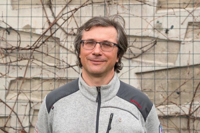 Tomáš Dražil, riaditeľ správy Národného parku Slovenský raj. Foto – Soňa Mäkká