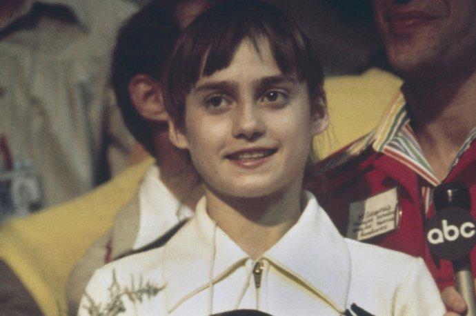 Nadia Comaneciová, najúspešnejšia gymnastka na OH 1976. Foto - archív ČTK