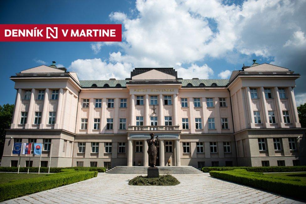 Matica slovenská. Foto N - Vladimír Šimíček