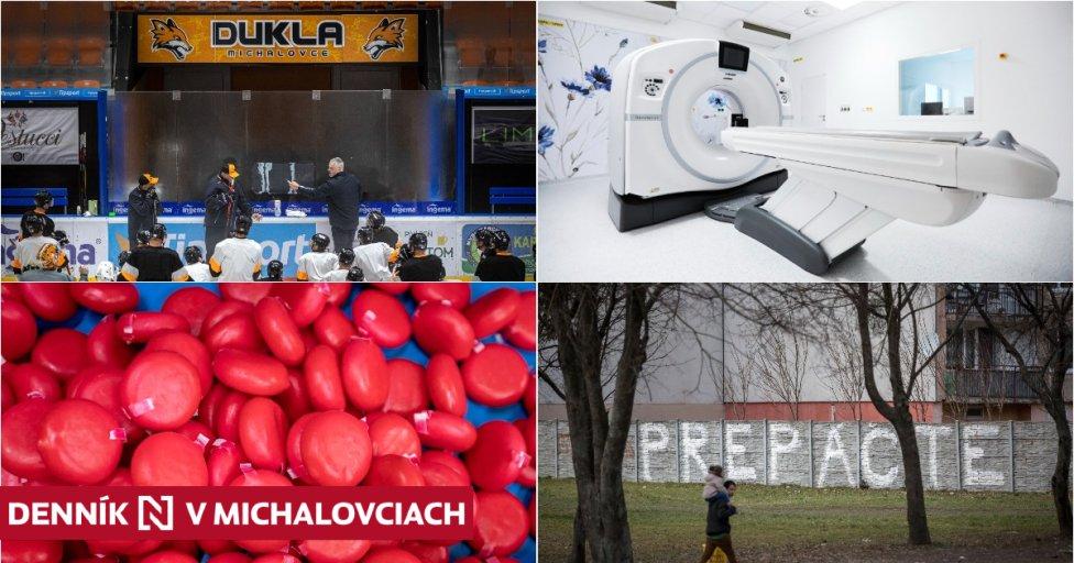 Michalovce, to sú aj hokej, nová nemocnica, zahraničná syráreň a aj život za múrom. Foto N – Tomáš Benedikovič a Svet zdravia