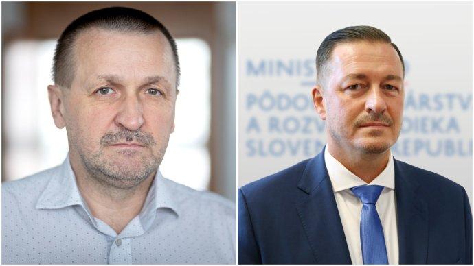 Odvolaný šéf PPA Jaroslav Jánoš a nový riaditeľ Jozef Kiss. Foto - N a archív