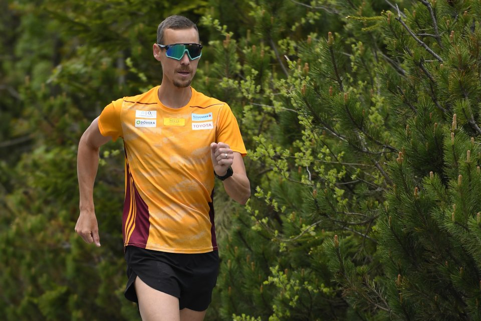 Matej Tóth počas prípravy na olympiádu. Foto - TASR/Milan Kapusta