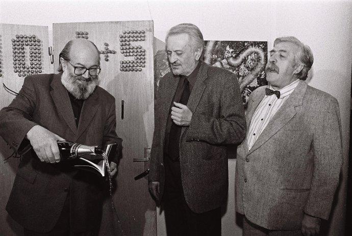 Kornel Földvári, Milan Lasica a Július Satinský. Foto - Peter Stanley Procházka