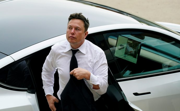 Šéf Tesly Elon Musk. Foto - TASR/AP
