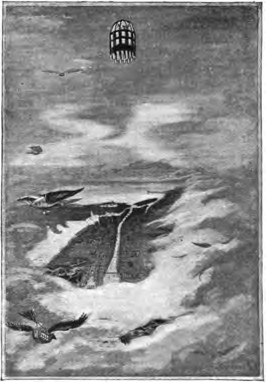 """Daniel Carter Beard: """"Kallisto vystupovala stále priamo."""" Ilustrácia z románu Inými svetmi. Zdroj: commons.wikimedia.org"""
