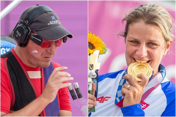 Erik Varga a Zuzana Rehák Štefečeková. Foto - TASR, koláž N