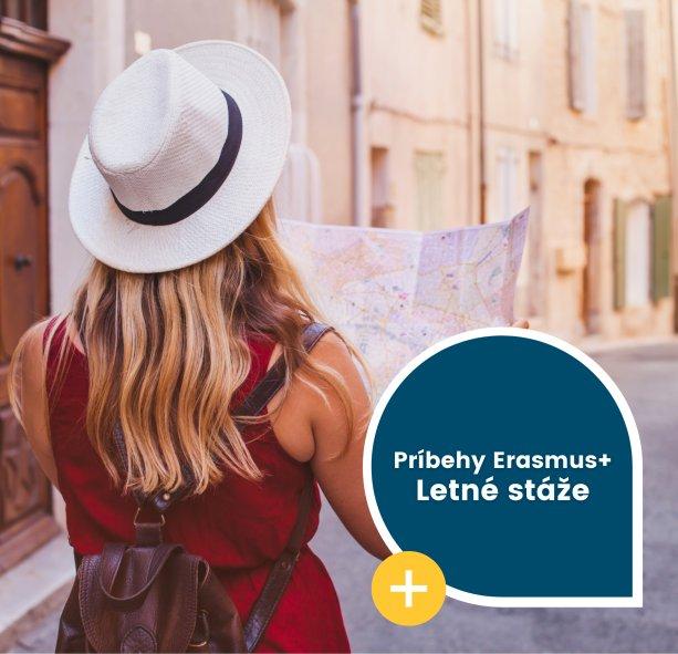 Letné stáže Erasmus+ Zdroj: SAAIC
