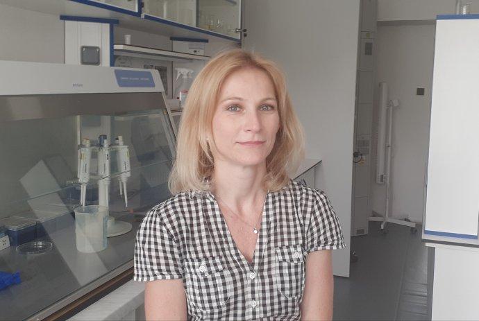 Parazitologička Daniela Antolová pôsobí v Parazitologickom ústave SAV v Košiciach. Foto – archív D. A.