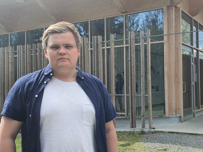 Gaute Skjervø mal šťastie a Breivikov masaker prežil. Foto Deník N - Albína Mrázová