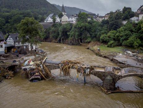Rieka Ahr v meste Schuld. Foto – TASR/AP