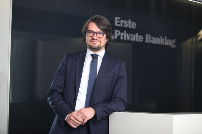 Michal Orlovský, šéf Erste Private Banking. Foto - Slovenská sporiteľňa