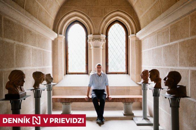 Nový riaditeľ zámku Socha chce sprístupniť čo najväčšiu časť hradu verejnosti. Foto - Vanda Mesiariková