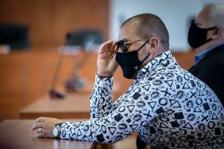 Takáčovec Matej Zeman bol 7. júla na súde s Dušanom Kováčikom. Foto N – Tomáš Benedikovič