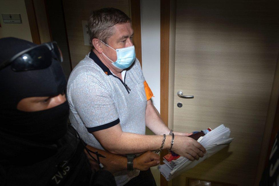 Dušan Kováčik v júli na súde. Foto N - Tomáš Benedikovič