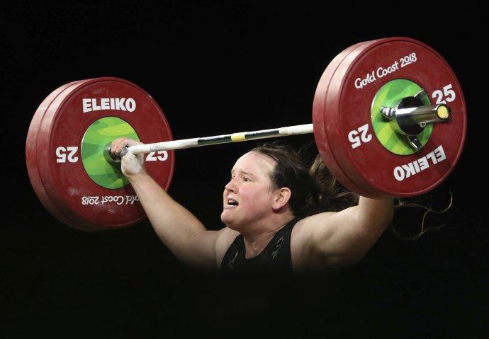 Laurel Hubbardová. Foto – TASR/AP