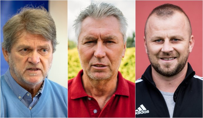 Zľava: Ladislav Borbély, Ján Kocian a Marek Sapara. Foto: TASR, N/Jana Červená, Vladimír Šimíček