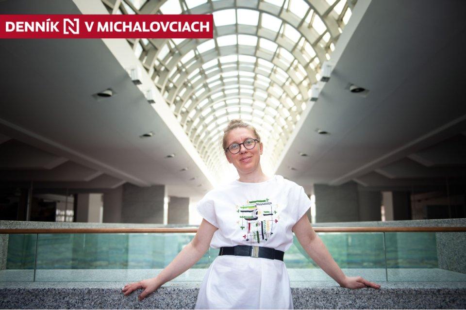 Šéfka Činohry Slovenského národného divadla Miriam Kičiňová. Foto N - Vladimír Šimíček