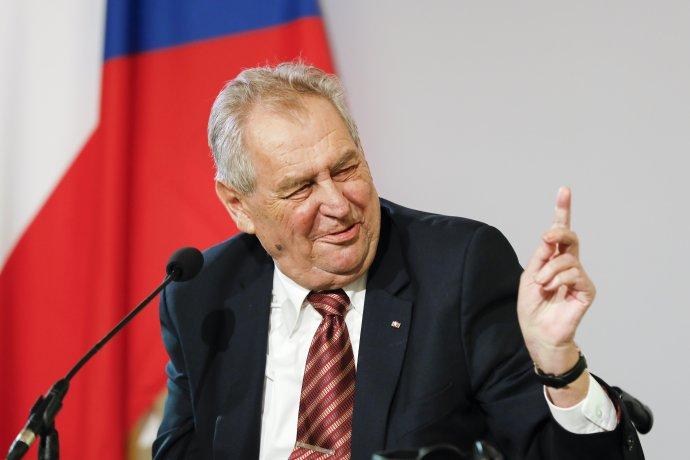 Miloš Zeman v júni 2021. Foto - TASR/AP