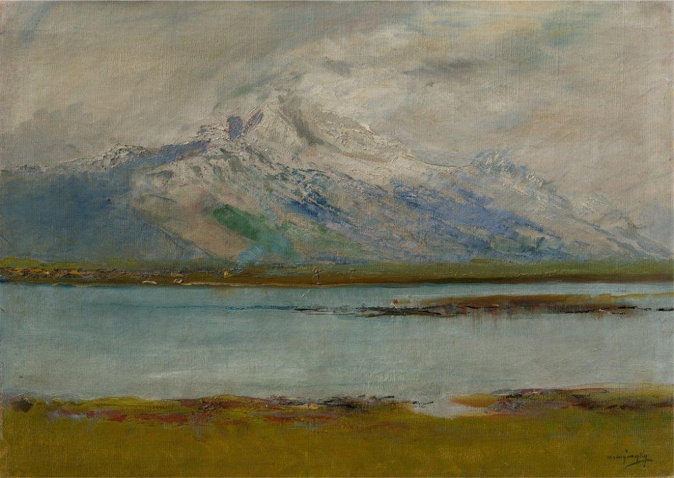 Ladislav Mednyánszky: Tatranská krajina. 1890 – 1895. Zbierka SNG