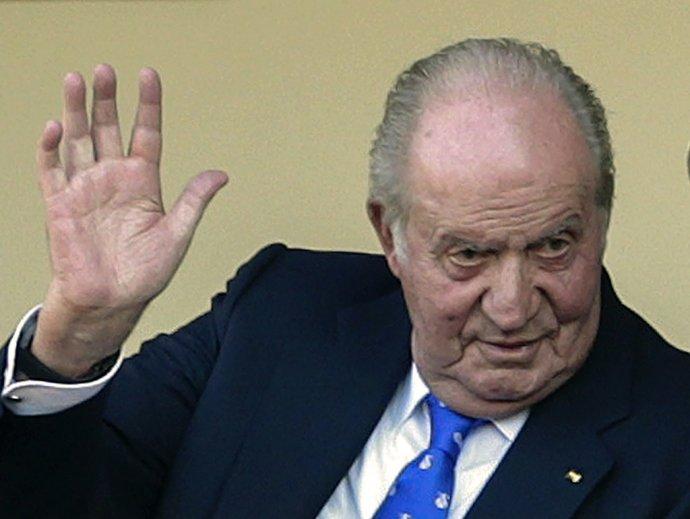 Emeritný španielsky kráľ Juan Carlos I. Foto - TASR/AP