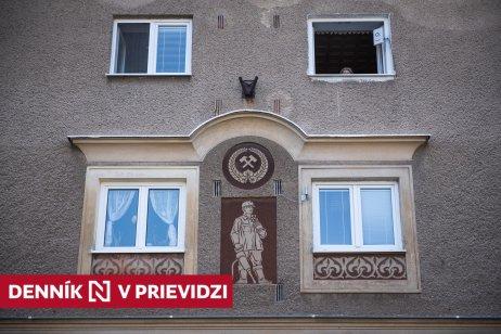Banícka grafita na Svätoplukovej ulici v Prievidzi. Foto N – Tomáš Hrivňák